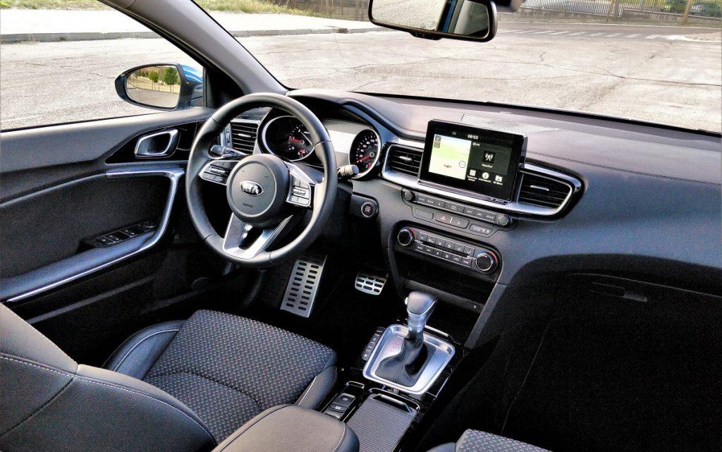 Imagen del interior del Kia Ceed