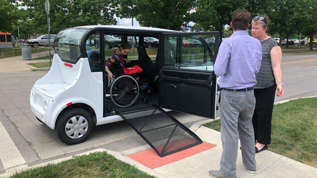May Mobility vehículo para discapacitados