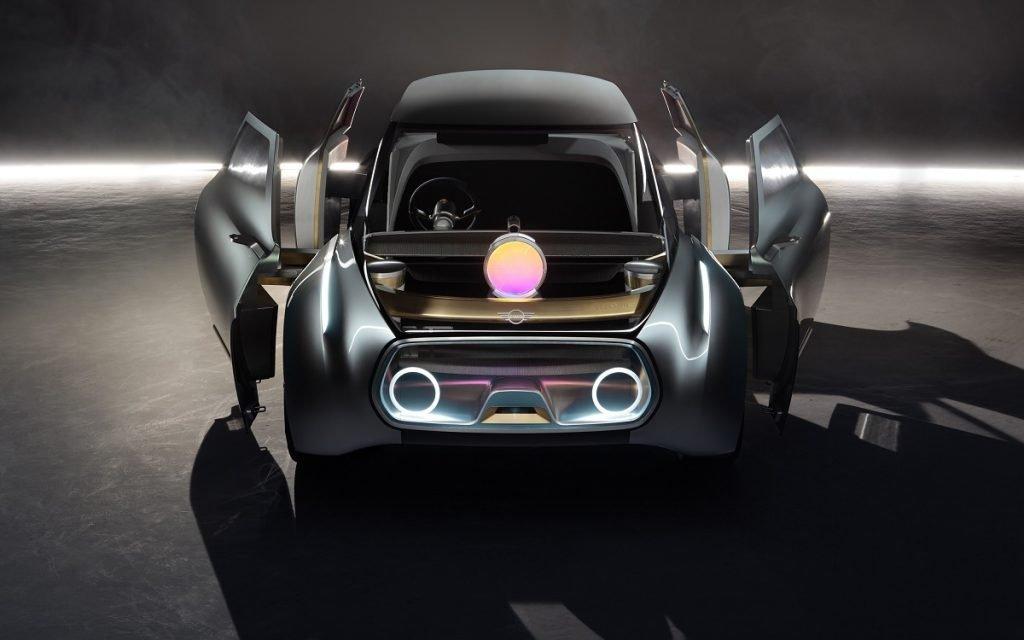Imagen de un prototipo de la marca Mini