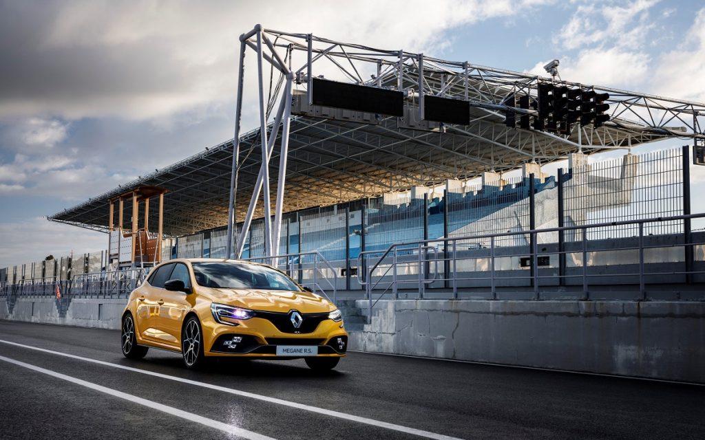Imagen de un Renault Mégane RS Trophy