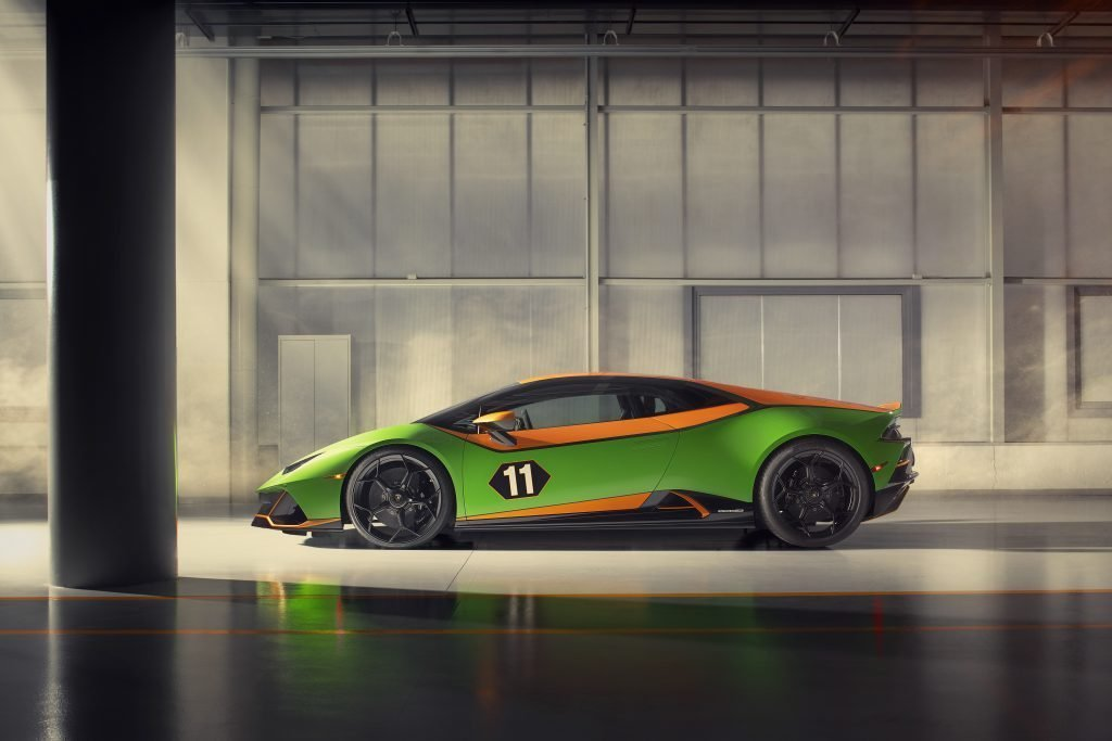 Lamborghini Huracán EVO Competition lateral