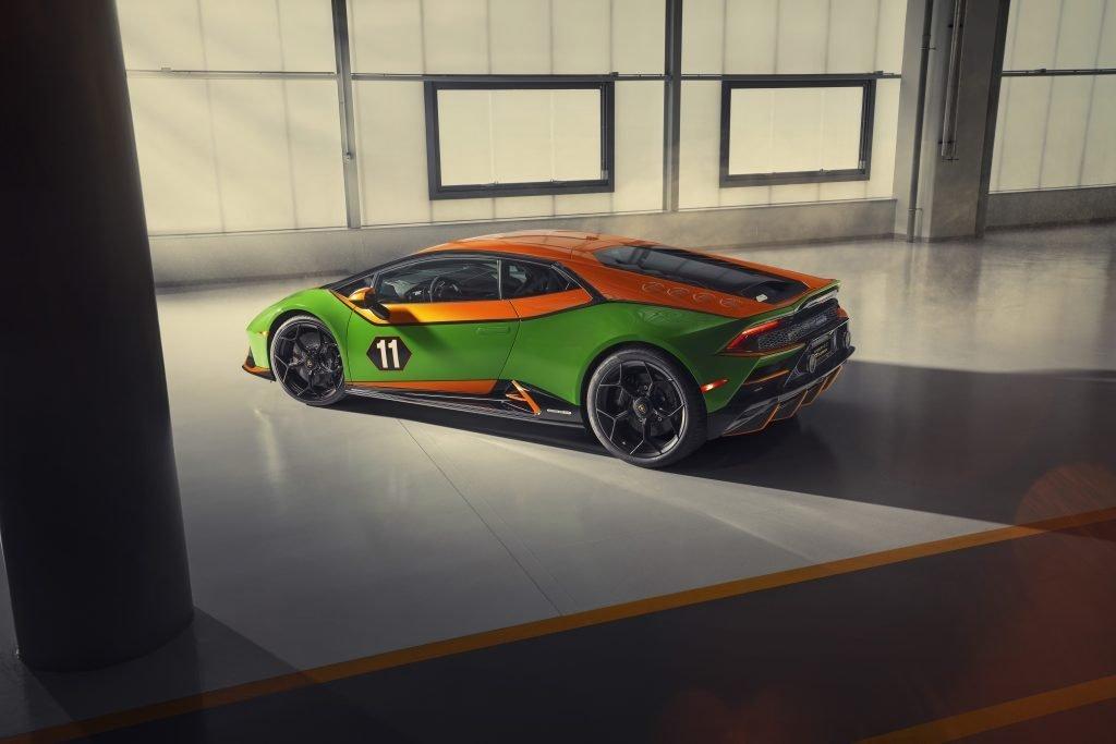 Lamborghini Huracán EVO Competition trasera