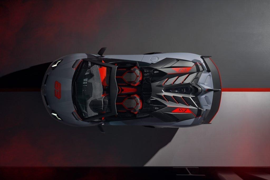 Lamborghini Aventador SVJ63 Roadster superior