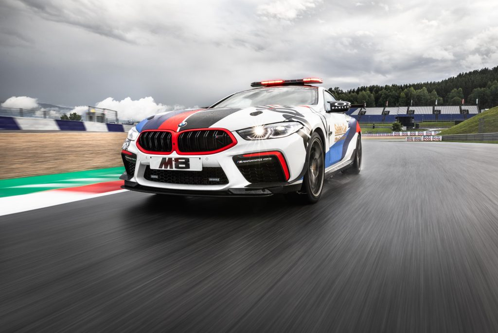 BMW M8 Safety Car MotoGP frontal