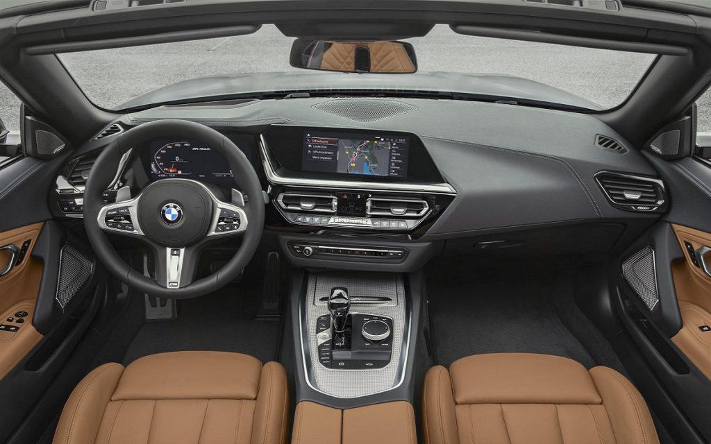 Interior del BMW Z4
