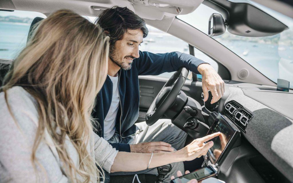 Interior y conectividad del Citroën C3 Aircross