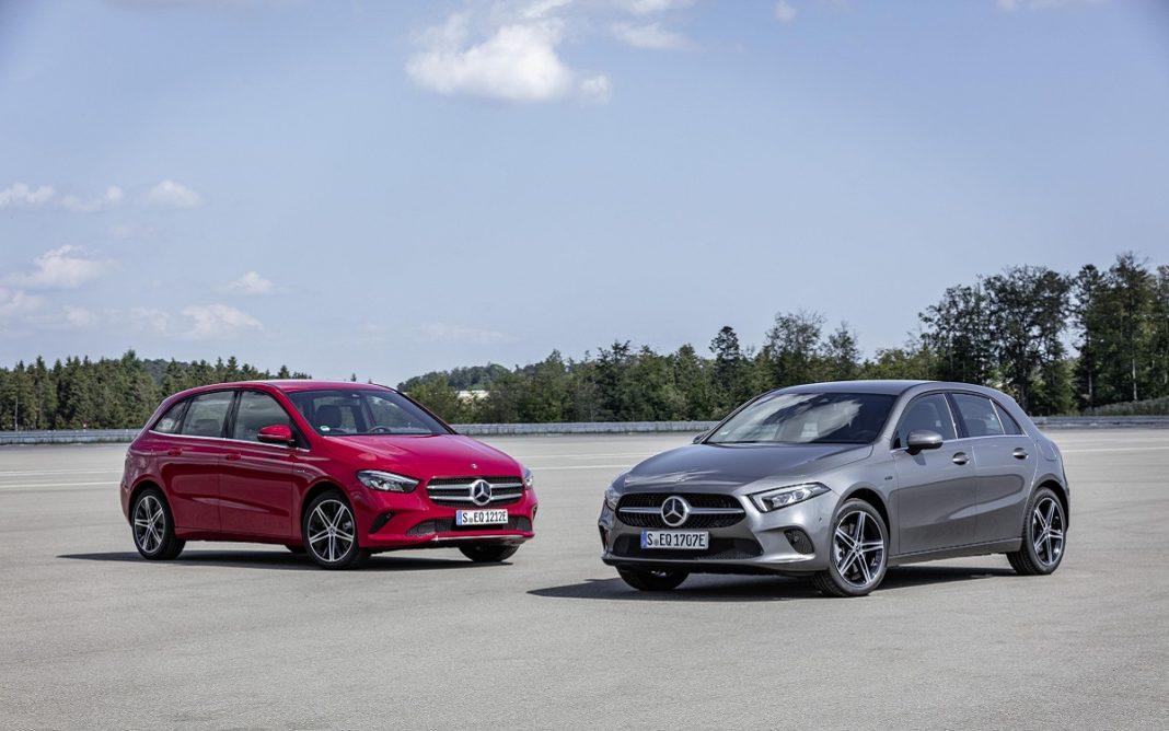 Imagen de los Mercedes Clase A y Clase B