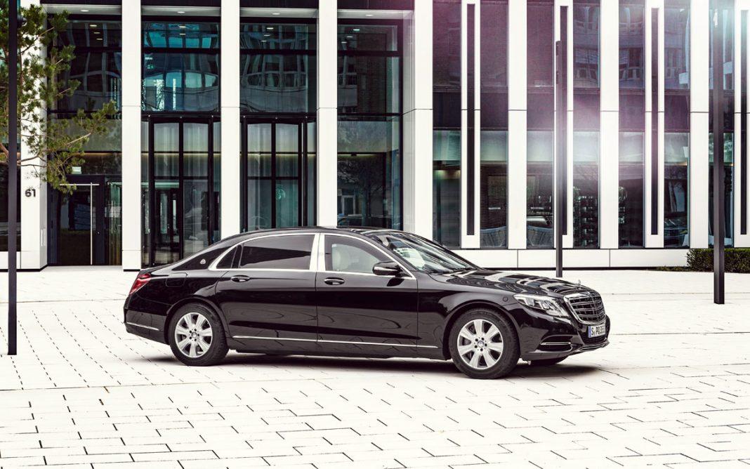 Imagen de un Mercedes S600 Guard