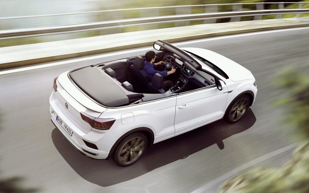 Imagen posterior del VW T-Roc Cabrio