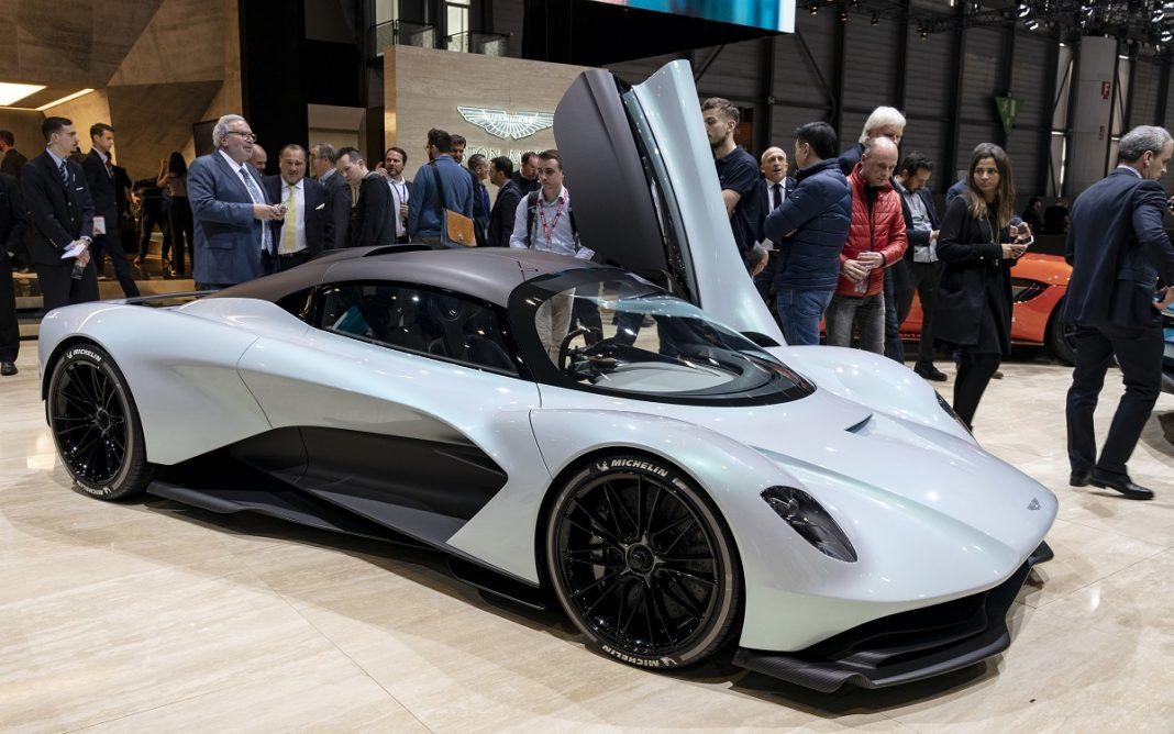 Imagen exterior del próximo Aston Martin Valhalla