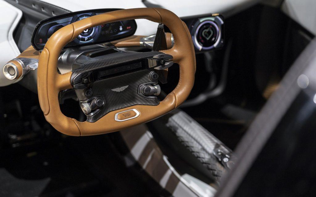 Imagen interior del próximo Aston Martin Valhalla