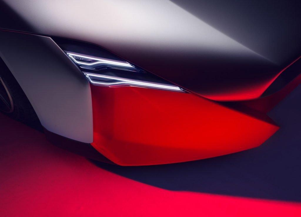 BMW Vision M Next detalle faro