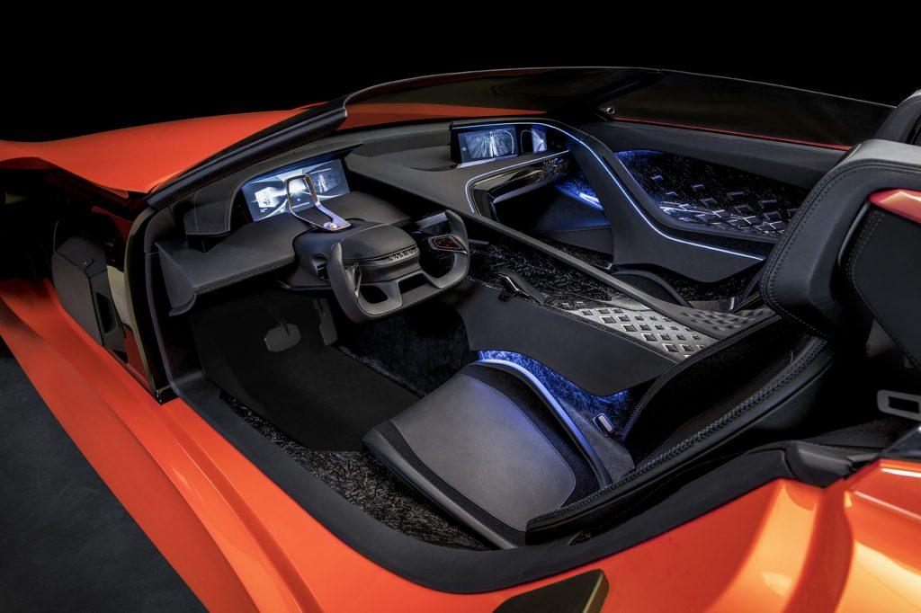 Karma SC1 Vision Concept interior panorámica