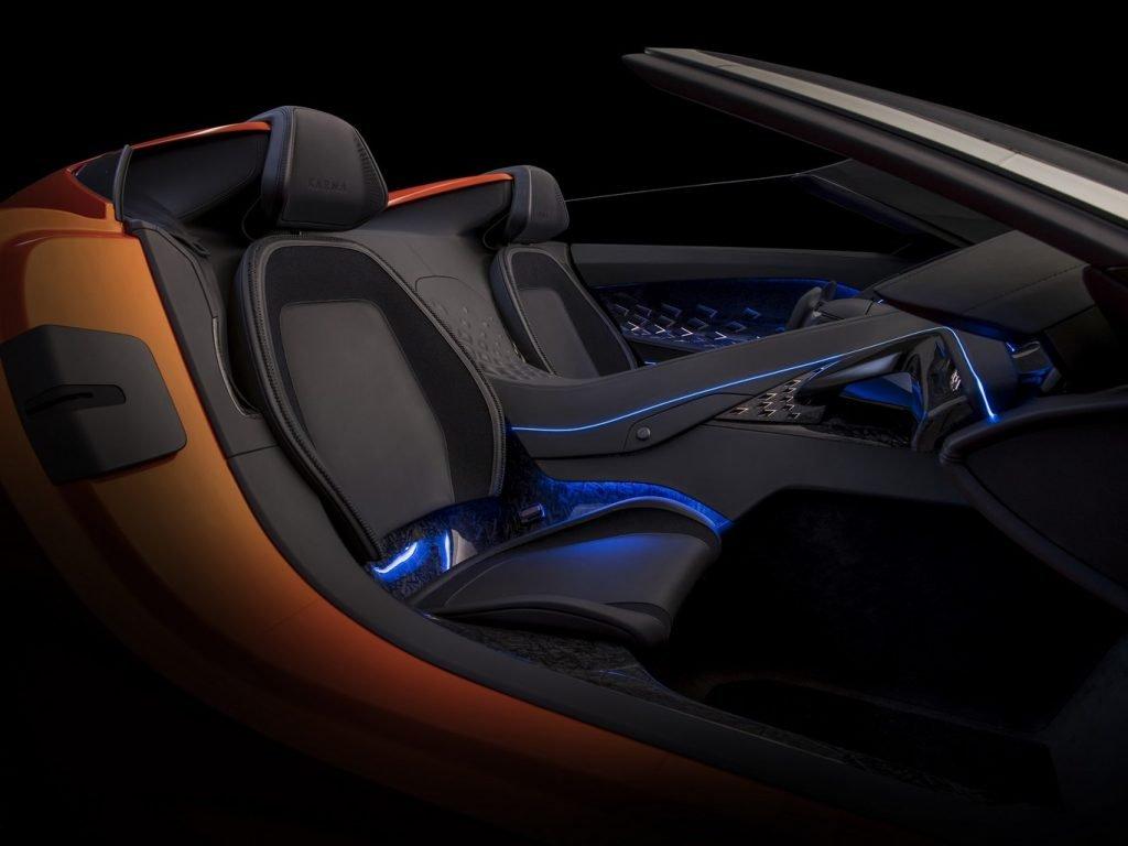 Karma SC1 Vision Concept interior lateral