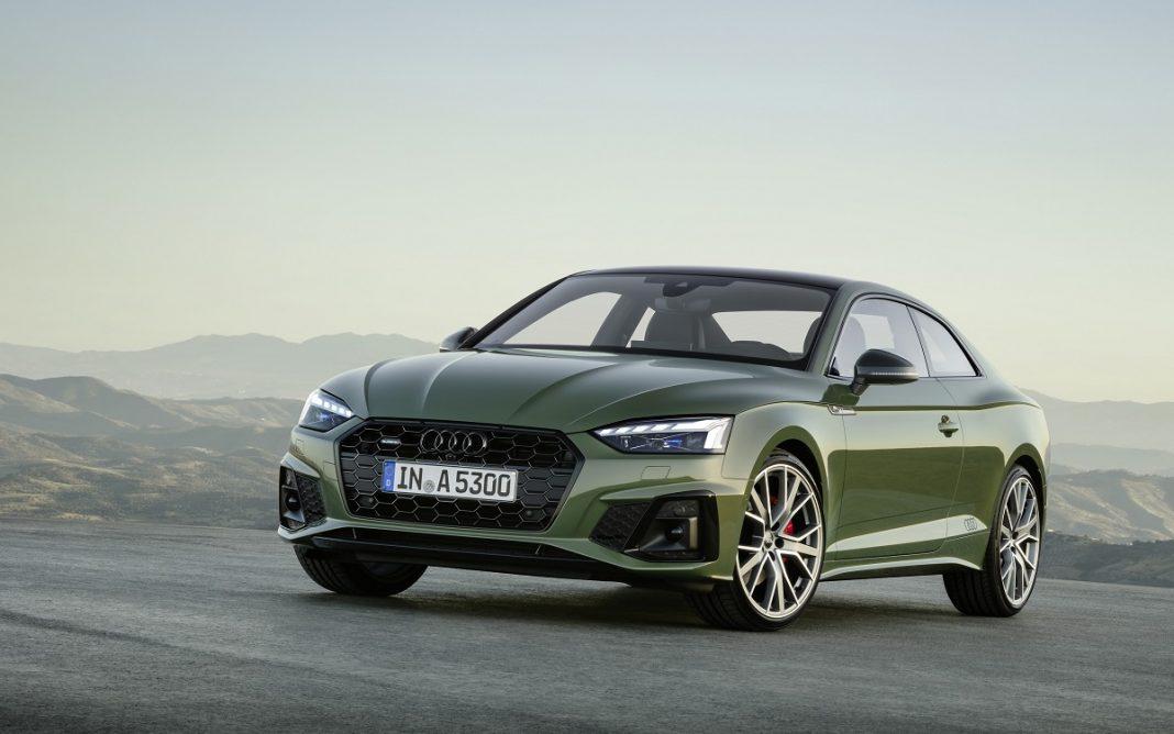 Imagen del Audi A5 Coupé 2020 de color verde