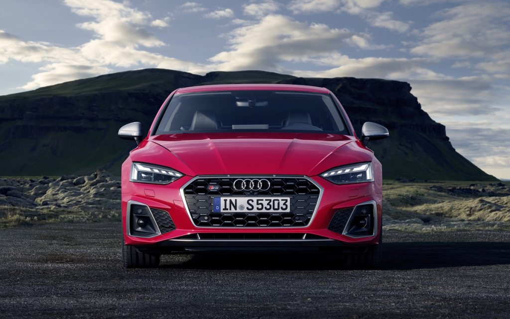 Carrocerías de los nuevos Audi A5 y S5