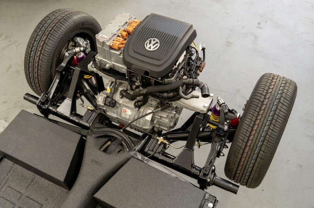 Volkswagen e-Beetle tren de potencia