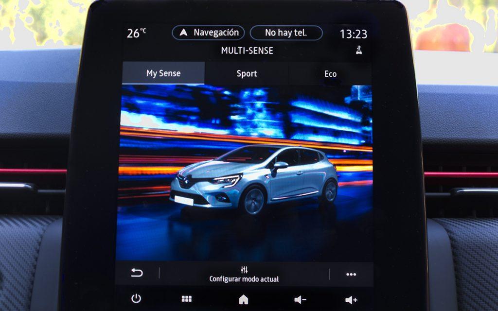 Imagen de los modos de conducción del Renault Clio V