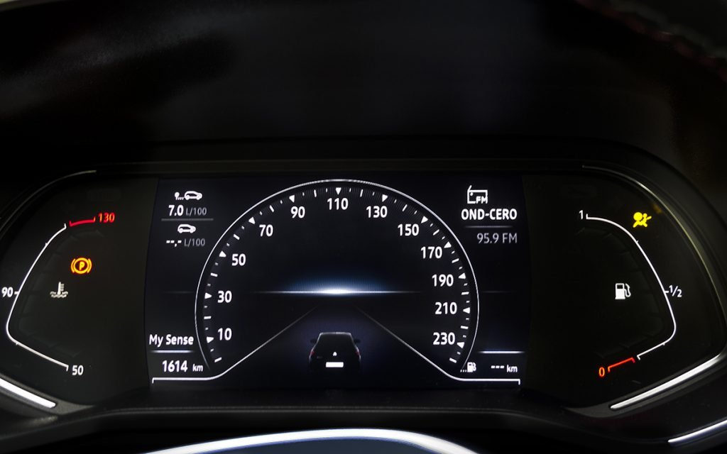 Panel de instrumentos del Renault Clio V