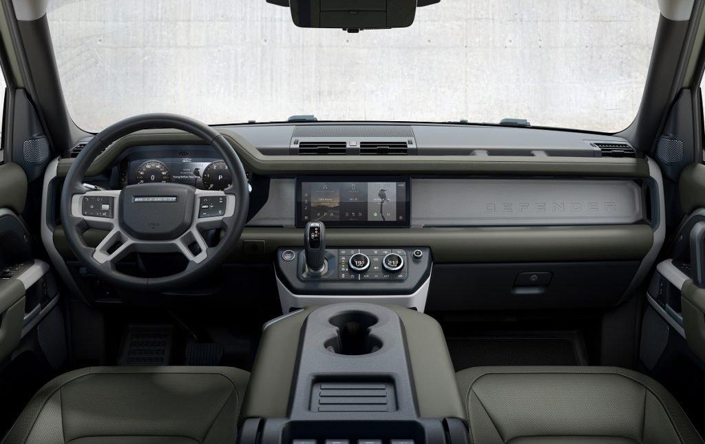 Imagen interior de Land Rover Defender