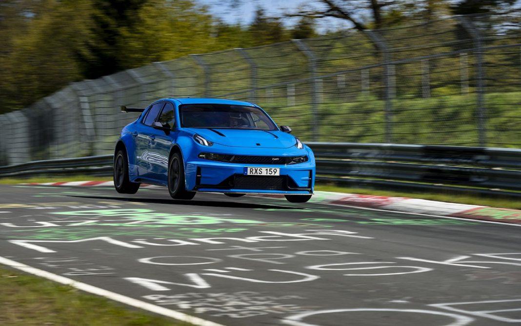 Imagen del Lynk&Co 03 Cyan Concept en Nürburgring