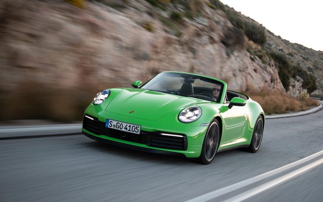 Imagen de un Porsche 911 Carrera S