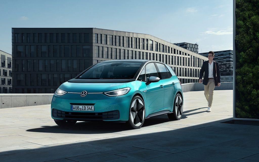 Imagen frontal del definitivo Volkswagen ID.3
