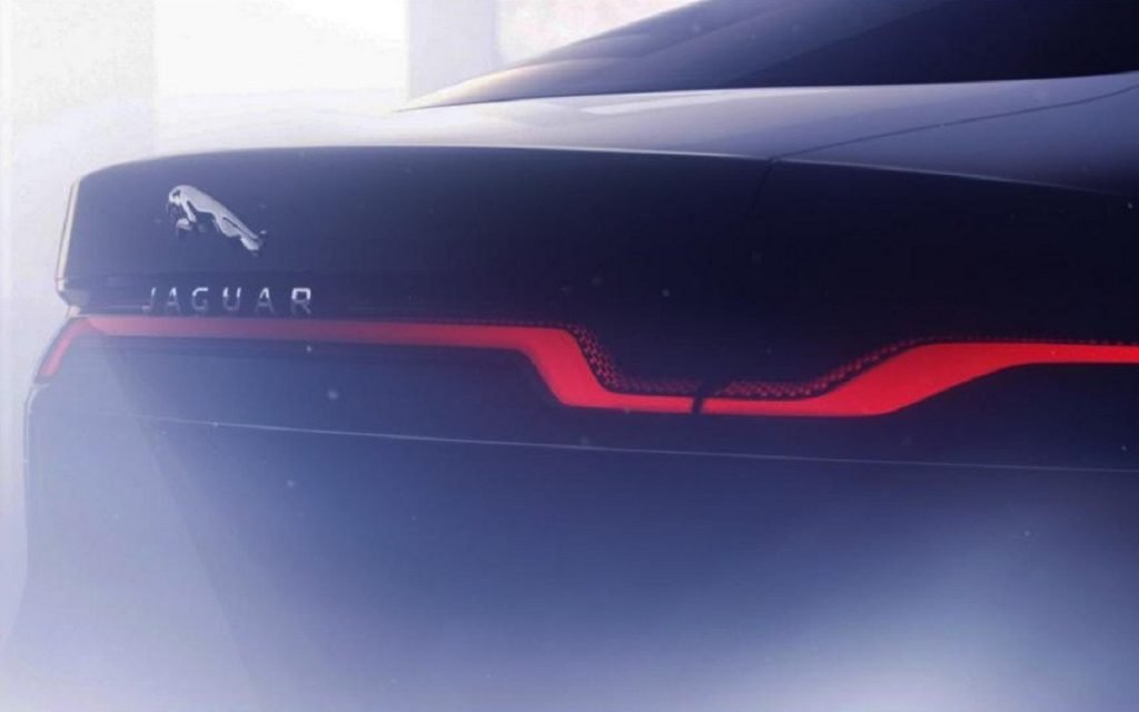Primera imagen de la parte trasera del Jaguar XJ