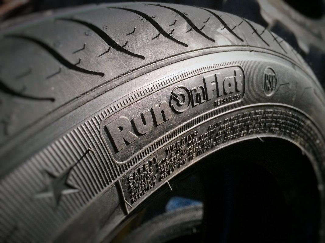 Neumático Run Flat flanco