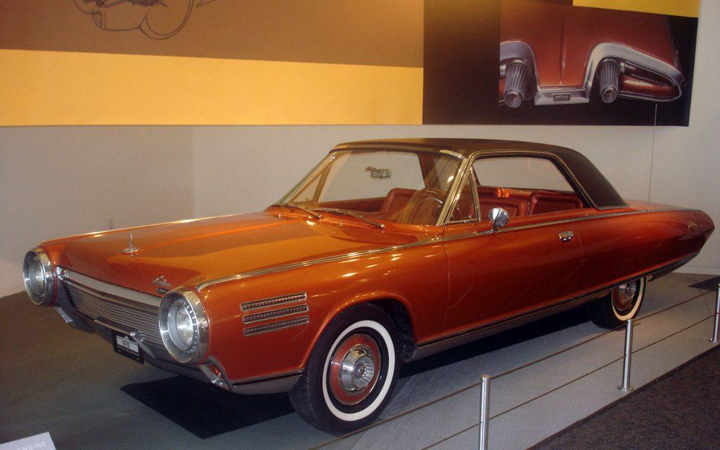 Imagen de un Chrysler Turbine Car