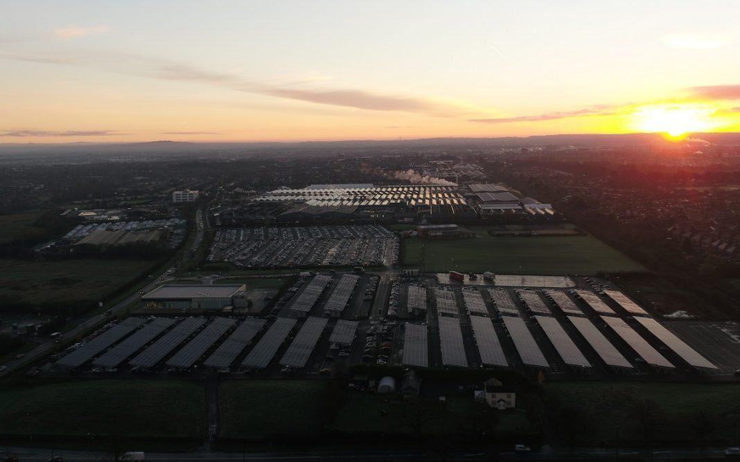 Imagen de la Fábrica Bentley en Crewe
