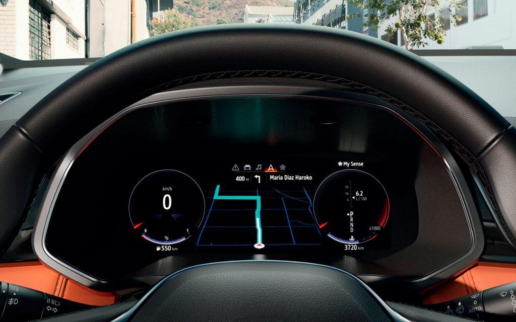 Imagen 2 del Virtual Cockpit del Renault Captur