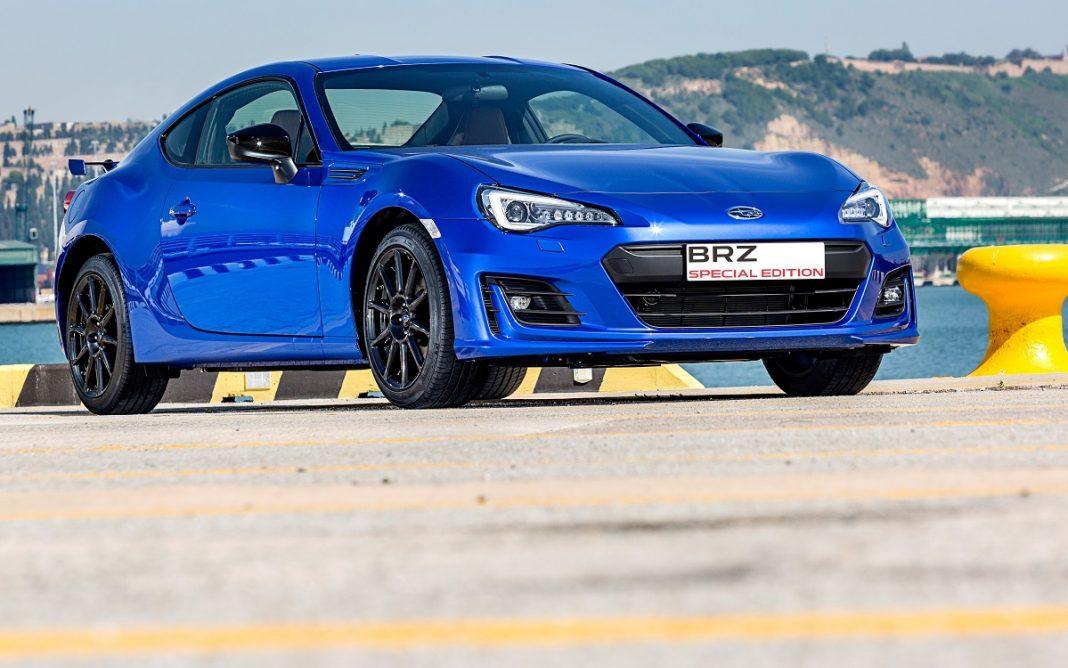 Imagen del nuevo Subaru BRZ serie limitada color azul