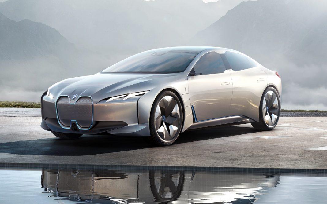 Imagen del Concept que dará lugar al futuro BMW i4