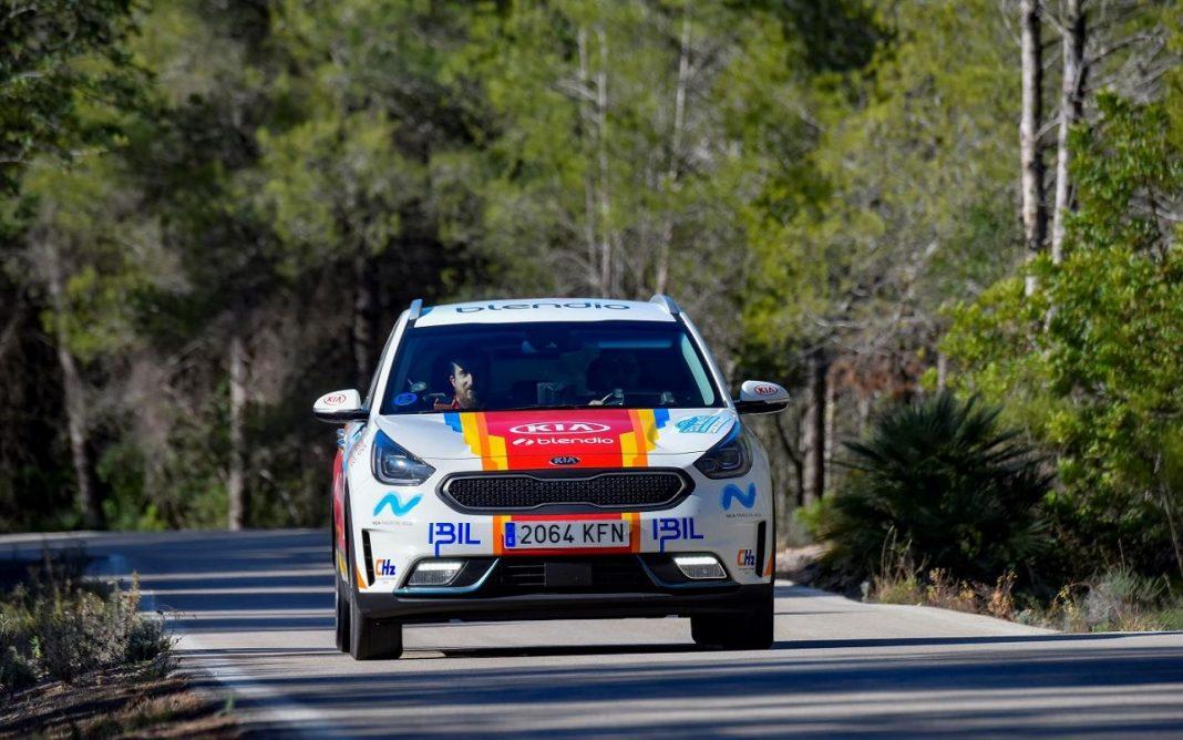 Imagen del Kia Niro campeón de España de Híbridos