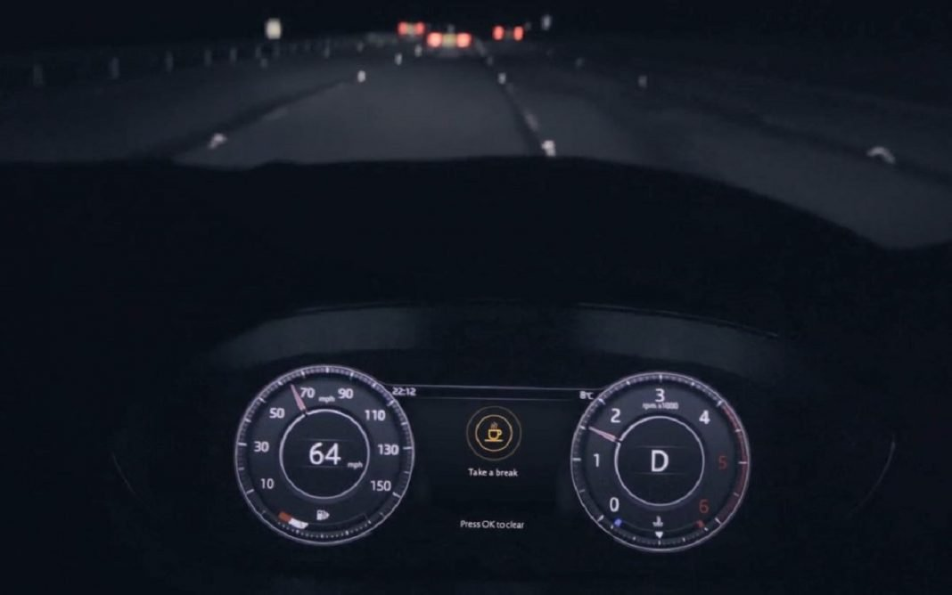 Imagen del sistema Jaguar de Alerta por Fatiga
