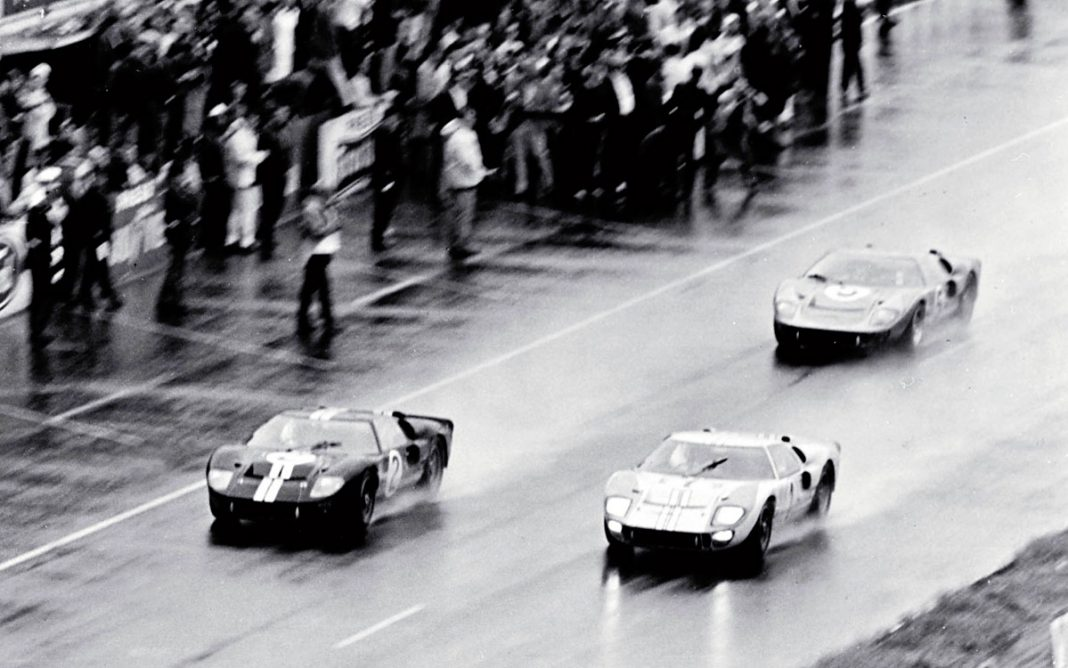 Fotografía del final de Le Mans 66