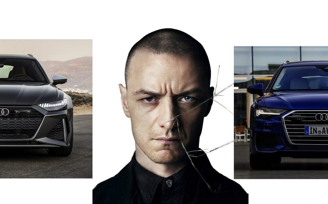 Imagen de cartel de la película Múltiple flanqueado por dos Audi A6