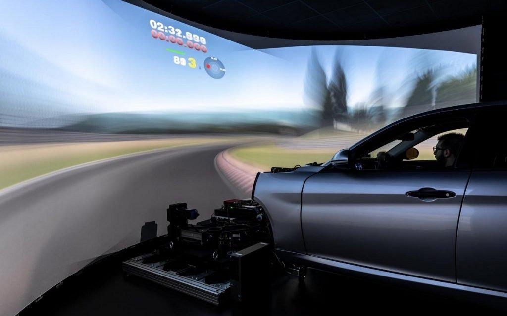 Simulador dinámico del Maserati Innovation Lab