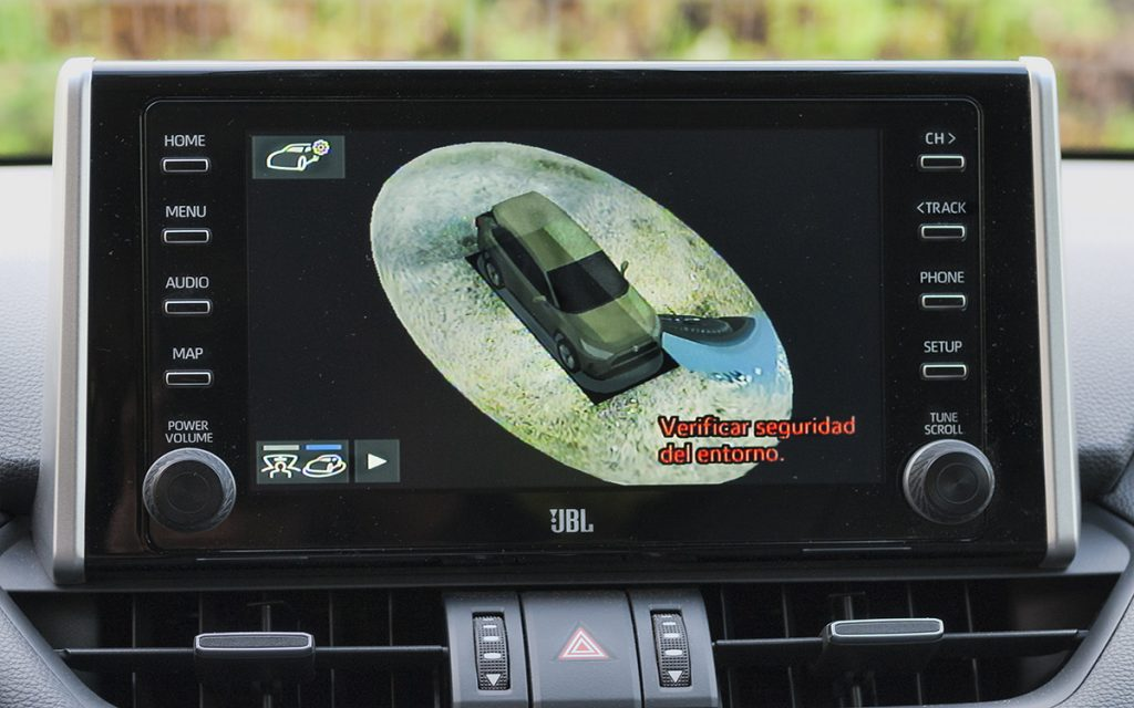 Vista 360 del Toyota RAV4