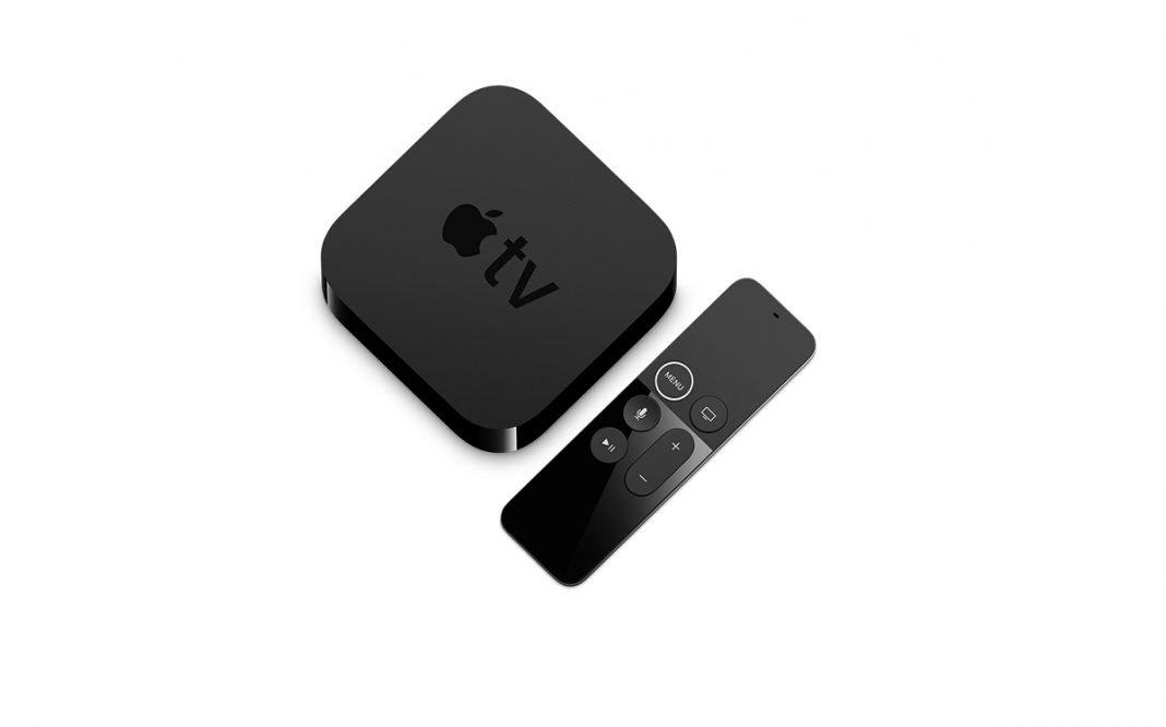 Imagen del sistema de televisión de Apple