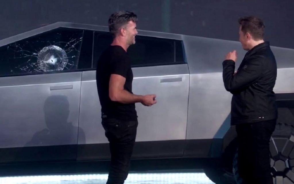 Imagen de Elon Musk durante la presentación del Cybetruck