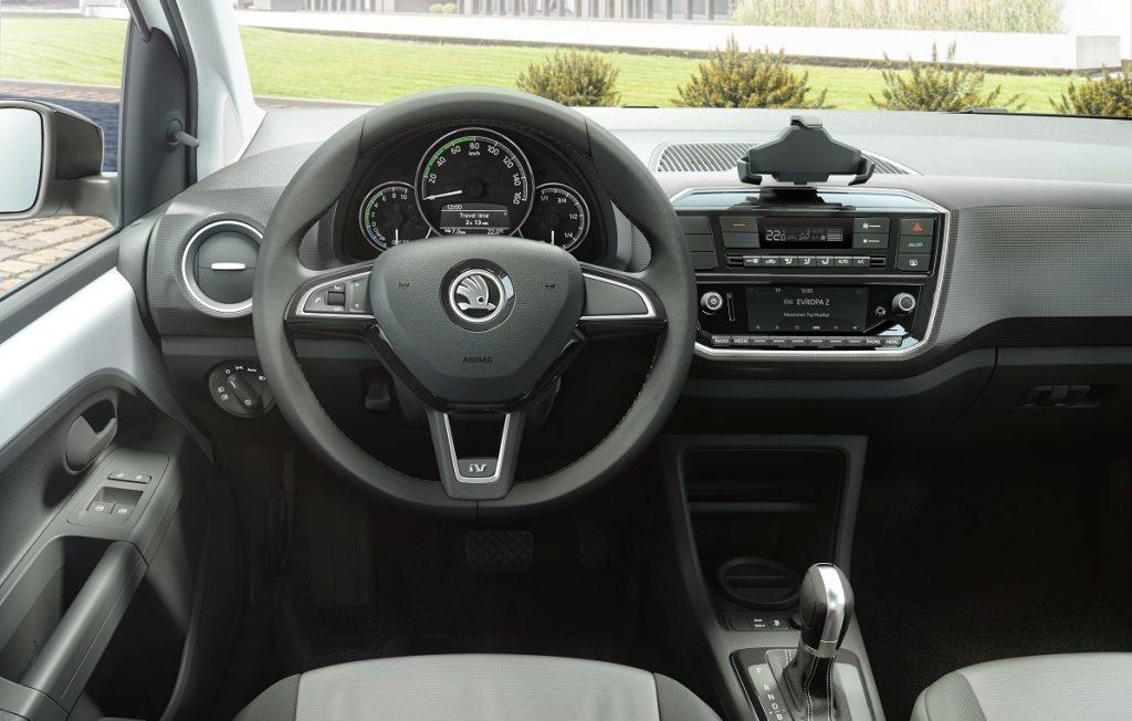 Imagen del interior del Skoda Citigo iV
