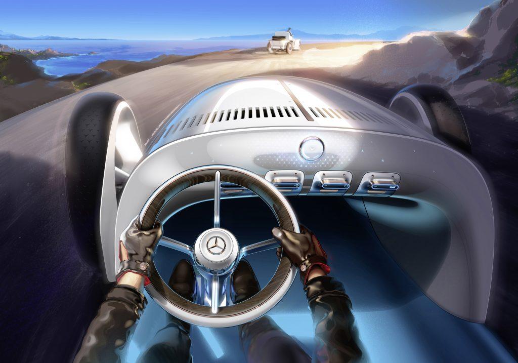 Vision Mercedes Simplex interior