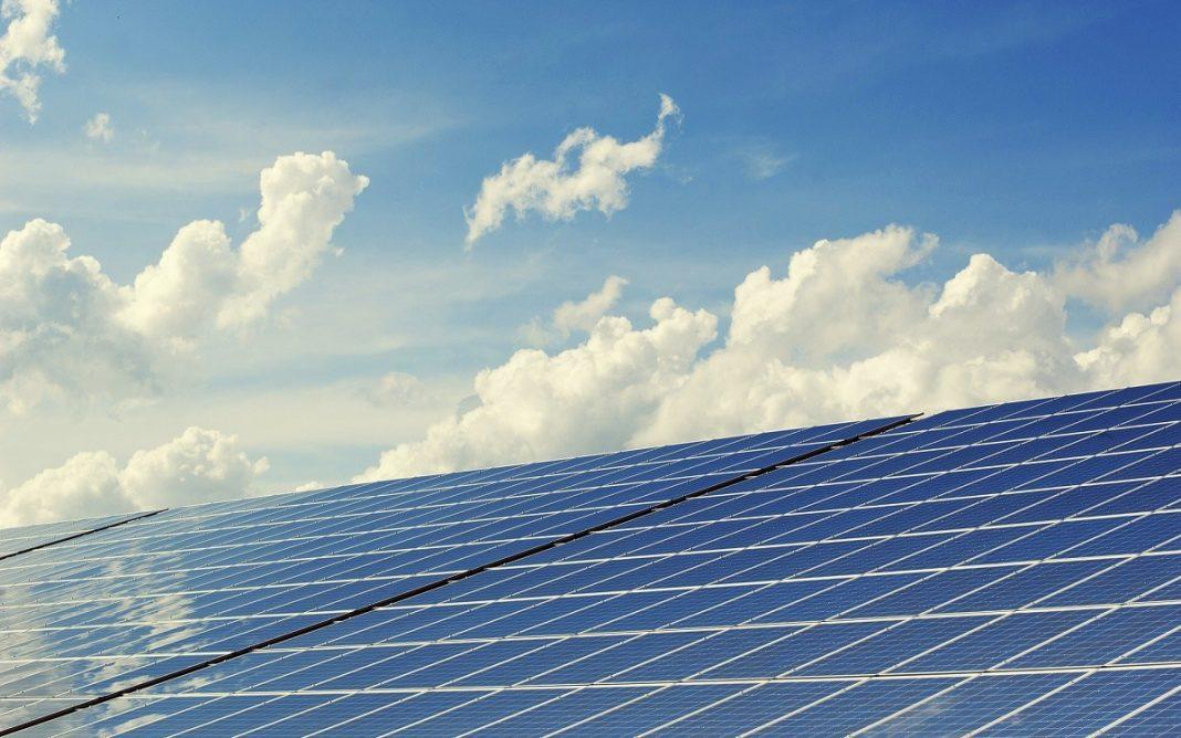 Imagen de unos paneles solares
