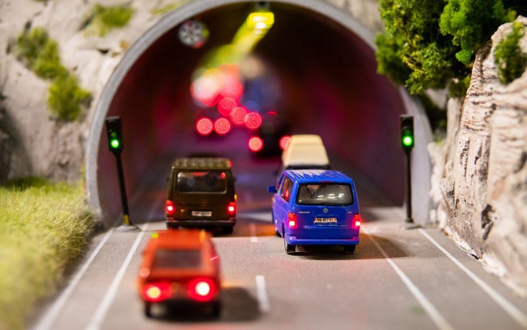 Imagen de un Atasco en el Túnel de juguete