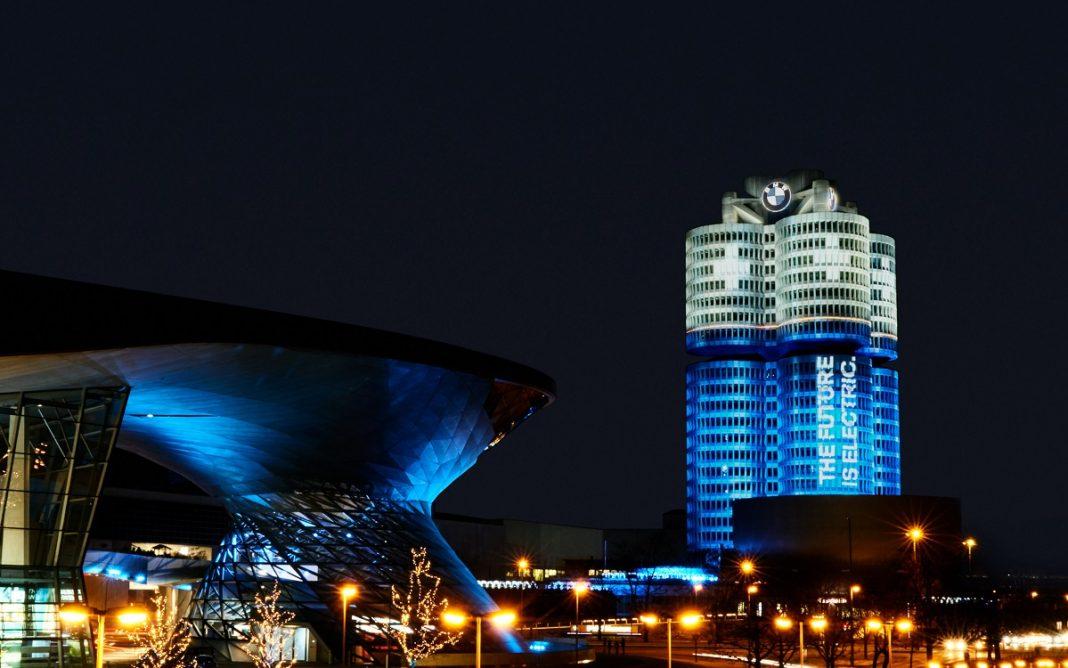 Imagen de un edificio de BMW