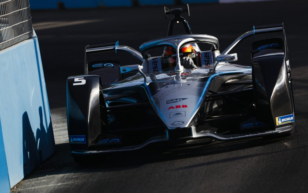 Mercedes Formula E frontal Stoffel Vandoorne