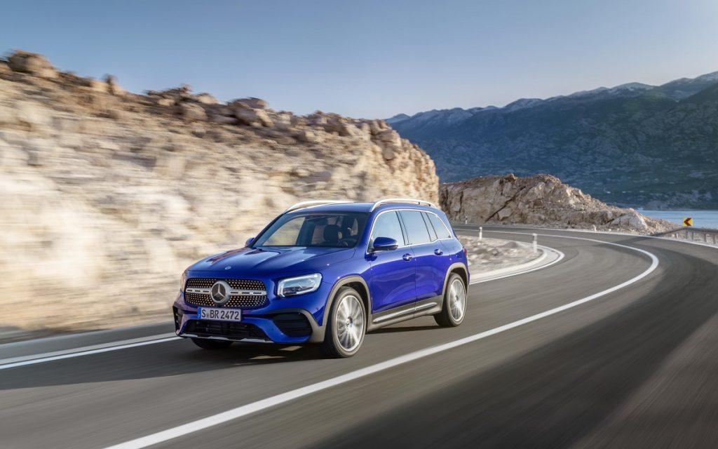 Imagen del Mercedes GLB 35 AMG