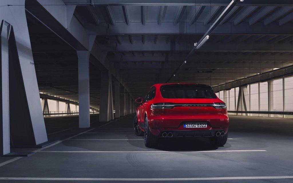 Imagen posterior del Porsche Macan GTS